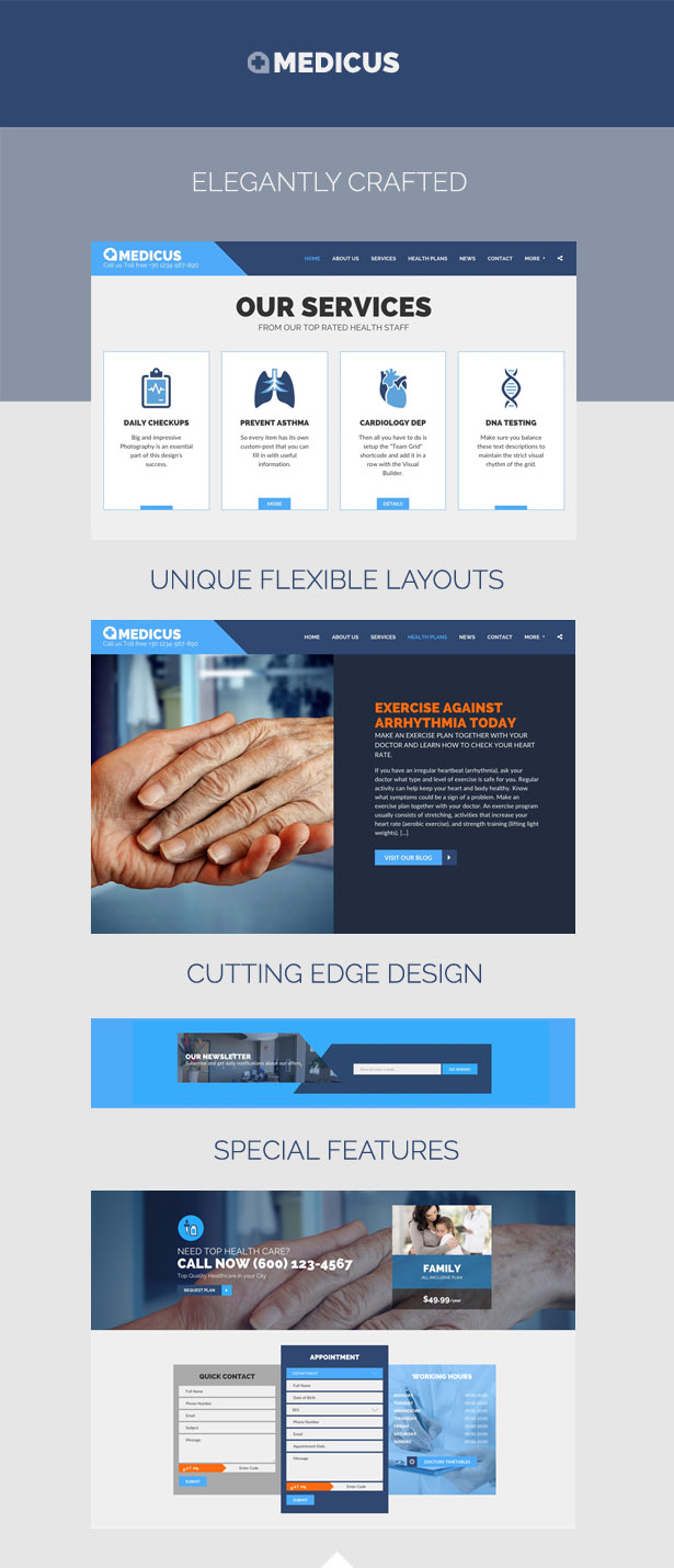 MEDICUS - Medical Business Multipurpose HTML